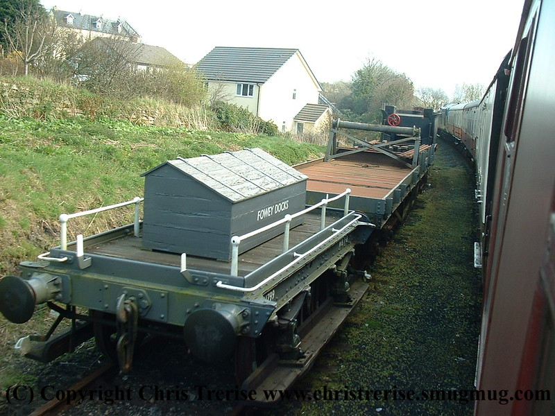 GWR Shunters Truck number W41799 at Bodmin General.<br /> 28th March 2009