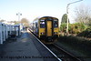 Class 150 2 Car Sprinter DMU number 150 261 at Gunnislake.<br /> 9th November 2009