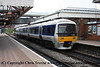 Class 165 2 Car DMU number 165 008 at Aylesbury with a service for London Marylebone.<br /> 15th July 2009