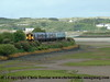 Class 150 2 Car Sprinter DMU number 150 280 leads 150 233 through Lelant with the 1711 St Erth to St Ives.<br /> 18th May 2009