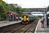 Class 150 2 Car Sprinter DMU number 150 234 arrives at Liskeard with the 0930 Exeter St Davids to Penzance.<br /> 18th June 2009
