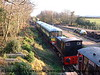 Trevarno looking towards Truthall Halt with 2 Car Class 103 Park Royal DMU stabled in the platform.<br /> 7th December 2008