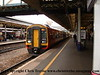 Class 159 3 Car DMU number 159 018 at Exeter St Davids with the 1210 to London Waterloo.<br /> 18th June 2008