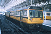 Class 142 2 Car Pacer DMU number 142 058 at Manchester Piccadilly.<br /> 16th April 2001
