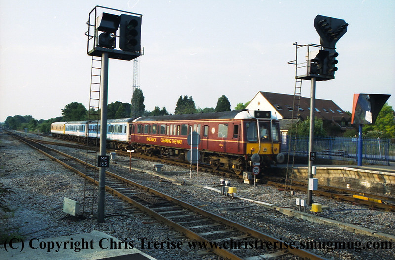 Class 121 Single Car DMU number 55024.  I failed to record the location or the exact date.<br /> September 2001