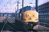 Class 37 Diesel Locomotive number 37 698 approaches Doncaster.<br /> 21st April 2001