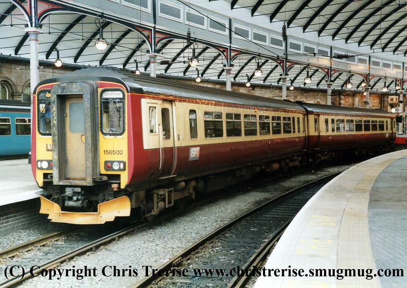 Class 156 DMU at Newcastle