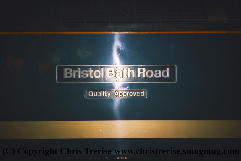 "Class 47 Diesel Locomotive number 47 816 named ""Bristol Bath Road Quality Approved"" at London Paddington.<br /> 9th June 2001"