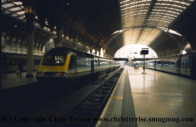 Class 43 HST Power Cars at London Paddington.<br /> 9th June 2001