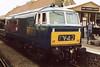 Class 35 Hymek at Minehead