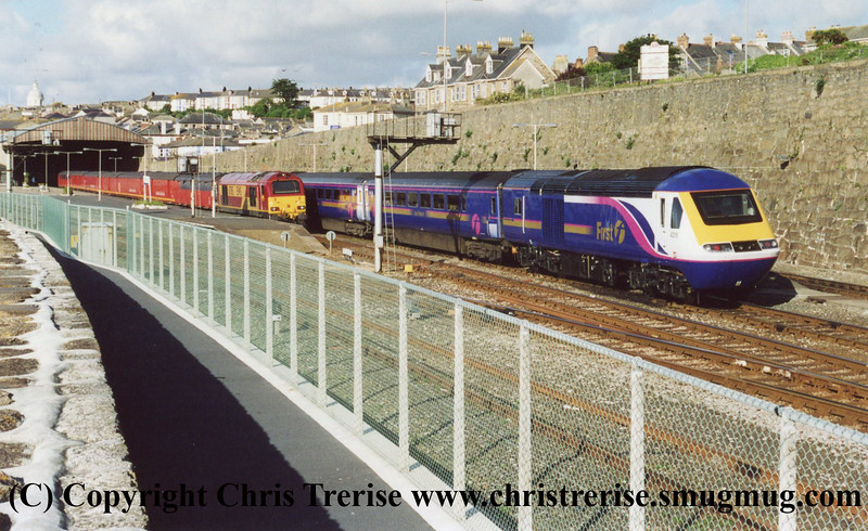 Class 43 and 67 at Penzance