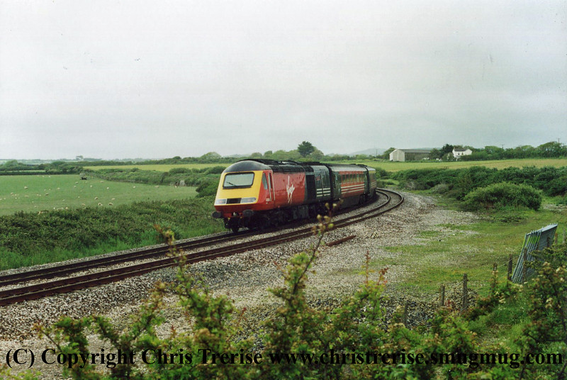 Class 43 at Gwinear Road