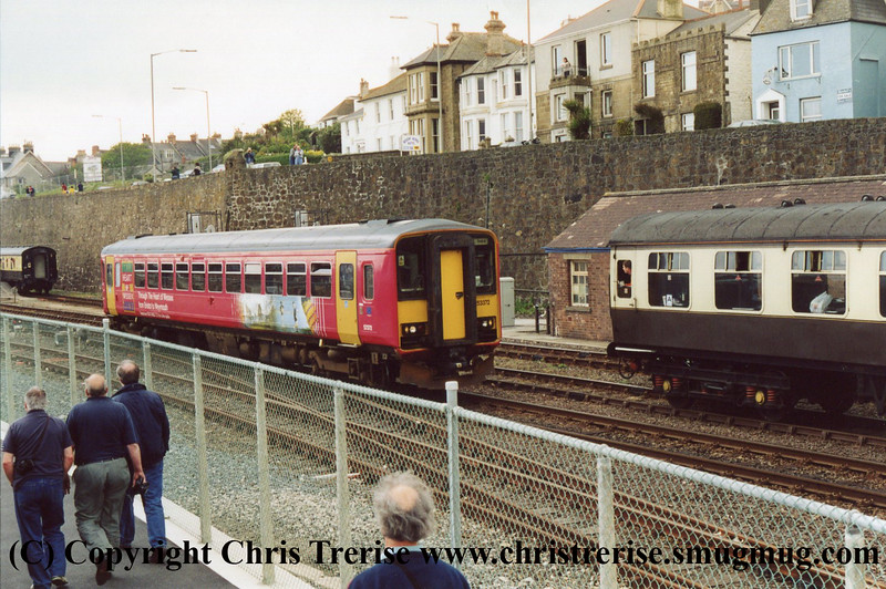 Class 153 at Penzance