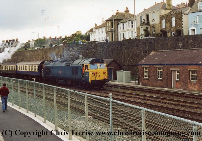 Class 50 at Penzance