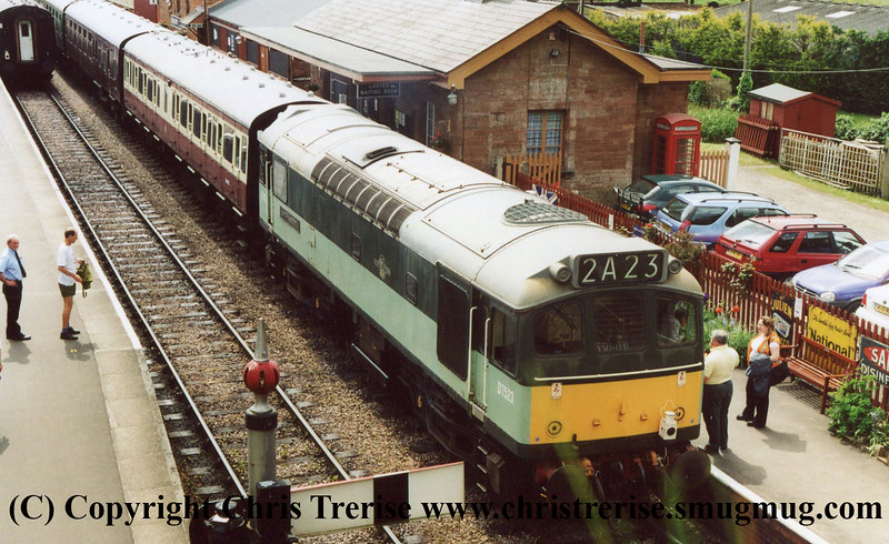 Class 25 at Bishops Lydeard