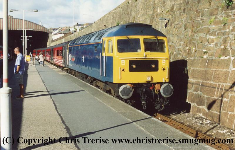 Class 47 at Penzance