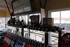 Interior of Minehead signal box.<br /> 27th April 2013