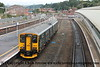 Class 150/2 2 Car Sprinter DMU Set number 150 239 departs Exeter St Davids with 2B74 0953 Exmouth to Barnstaple.<br /> 24th August 2017