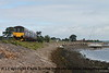 Class 150/1 2 Car Sprinter DMU Set number 150 128 passes Cockwood Harbour with 2T11 1023 Exmouth to Paignton.<br /> 21st August 2017