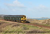 Class 150/2 2 Car Sprinter DMU Set number 150 232 passes Porthkidney Beach with 2A13 1048 St Erth to St Ives.<br /> 20th February 2018
