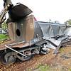 "Queensland Rail coal train crash near Yamala on the electrified 3' 6 1/2"" gauge network."