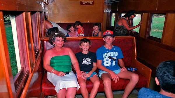 Cairns to Karanda sceinic railway.