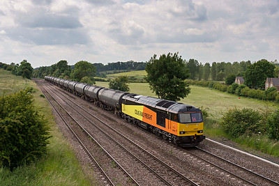 Colas 60 on Preston to Lindsey oil train