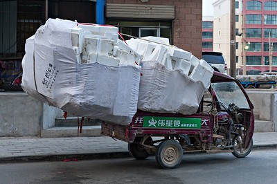 Polystyrene Re-cycling Chinastyle