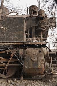 Old ET7 0-8-0T dumped & abandoned