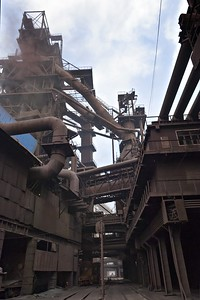 Inside the Blast Furnace Complex