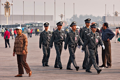 TianamenSq Security Detail