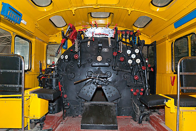 Mao Zedong's Loco Footplate at Railway Museum