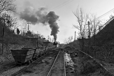 No 4 shunts and brews up at top of incline 2 BW