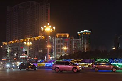 Fuxin City at Night 3
