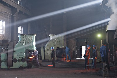 Drop forging in the workshop 2