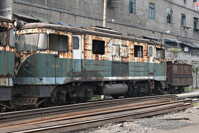 350hp DH abandoned since 1996 at Shixi depot