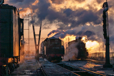 Dawn at Daquing Depot 2