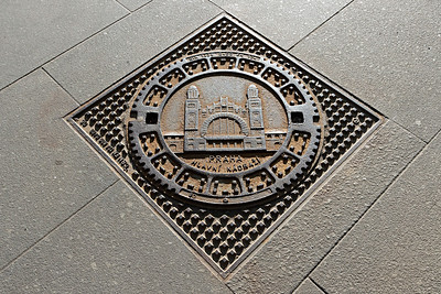 Stylish Manhole Cover