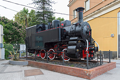 1915 Class 370 0-6-0T rack loco for closed Caltagirone to Dittaino metre line