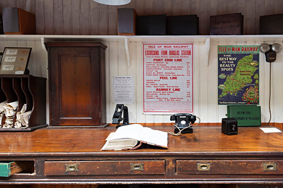 Museum Ticket Office at Port Erin