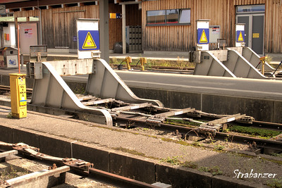 Oberstdorf, Germany,  08/20/2017 Friction Buffer Stop This work is licensed under a Creative Commons Attribution- NonCommercial 4.0 International License