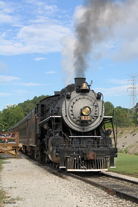 Tennessee Valley Railroad Museum 2-8-0 #630 built for the Southern railway in 1904 at  Grand Junction. Chattanooga, TN, 07/13/2019 This work is licensed under a Creative Commons Attribution- NonCommercial 4.0 International License