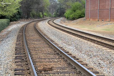 Railway Tracks Kennesaw, GA,  03/10/2018 This work is licensed under a Creative Commons Attribution- NonCommercial 4.0 International License