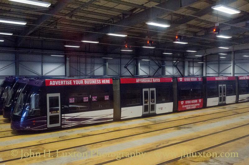 Blackpool Tramways - November 19, 2016