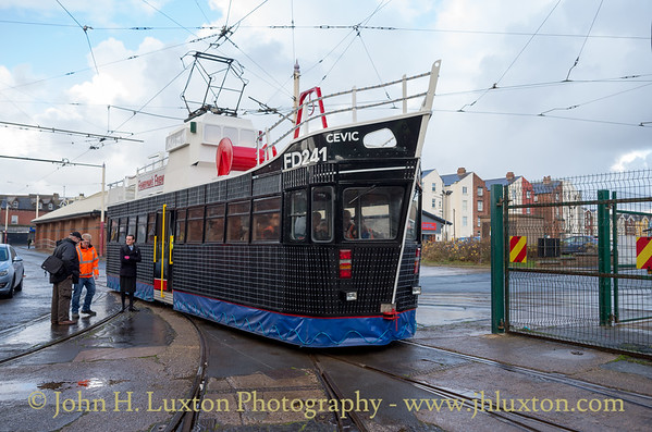 Blackpool Tramways - November 19, 2016