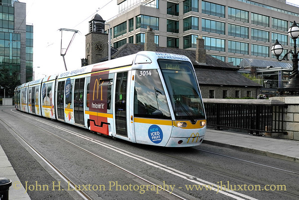 Luas Tramway, Dublin - August 28, 2013