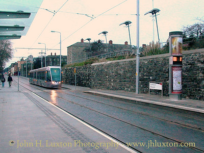 Luas Tramway, Dublin - December 29, 2004