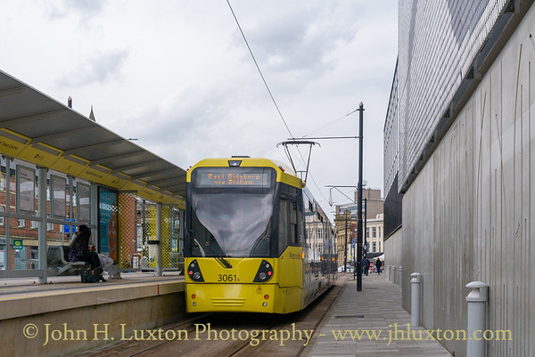 Manchester Metrolink Tramway - May 28, 2021
