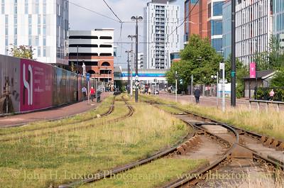 Manchester Metrolink Tramway - July 25, 2017