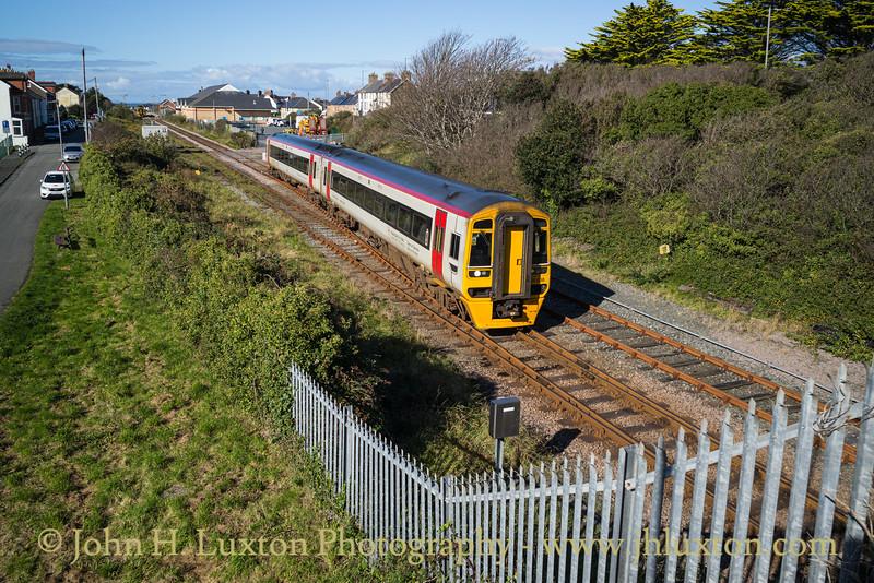 Cambrian Coast Line - Tywyn - October 11, 2020